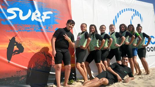 Immortalisez votre passage à Soulac surf school, après votre cours de surf tout matériel compris, sur la plage des naïades, à soulac sur mer