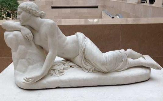 La nymphe Écho - Paul Le Moyne - Musée du Louvre