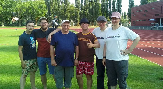 v.l. Marcel, Heiko, Helmut, Andreas, Patric, Kathrin