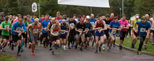 Starten 21,5km 2015