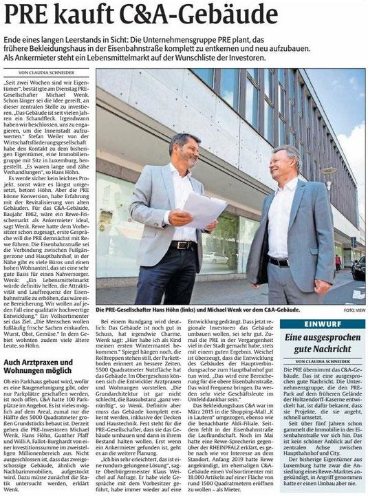 Verein für Baukultur und Stadtgestaltung Kaiserslautern e. V. - Eisenbahnstraße_Innenstadt