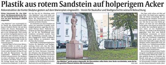 Verein für Baukultur und Stadtgestaltung Kaiserslatuern e. V. - Korterplastik