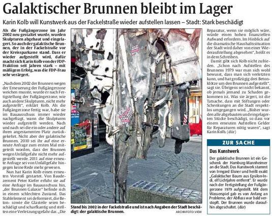 Verein für Baukultur und Stadtgestaltung Kaiserslautern e. V. - Glaktischer Baum