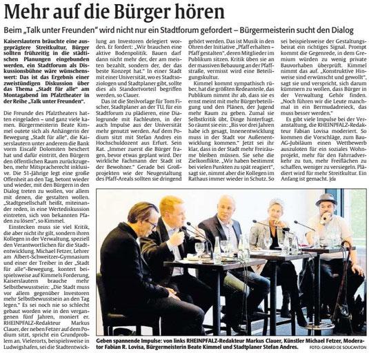 Verein für Baukultur und Stadtgestaltung Kaiserslautern e. V. - Bankenrettung - Stadt für alle