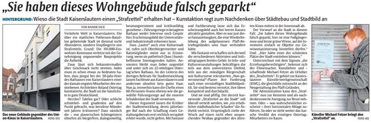 Verein für Baukultur und Stadtgestaltung Kaiserslautern e. V. - Stadtgestaltung