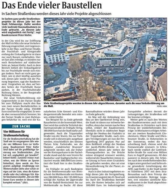 Verein für Baukultur und Stadtgestaltung Kaiserslautern e. V. - Galaktischer Brunnen