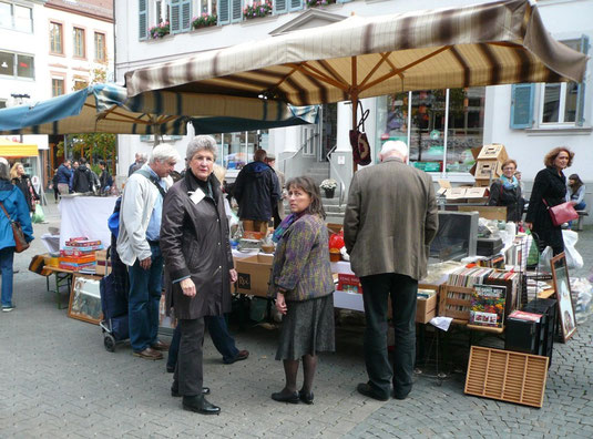 Verein für Baukultur und Stadtgestaltung Kaiserslautern e. V. - Flohmarkt Oktober 2014