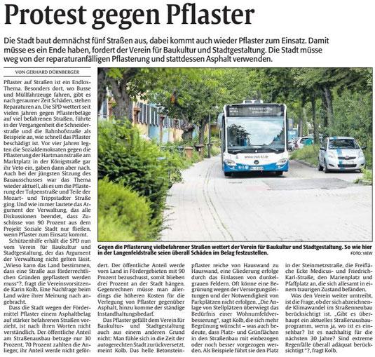 Verein für Baukultur und Stadtgestaltung e. v. Kaiserslautern - Straßen
