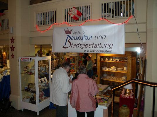Verein für Baukultur und Stadtgestaltung Kaiserslautern e. V. - Kulturmarkt