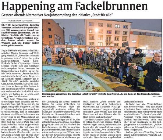 Verein für Baukultur und Stadtgestaltung Kaiserslautern e. V. - Fackelbrunnen