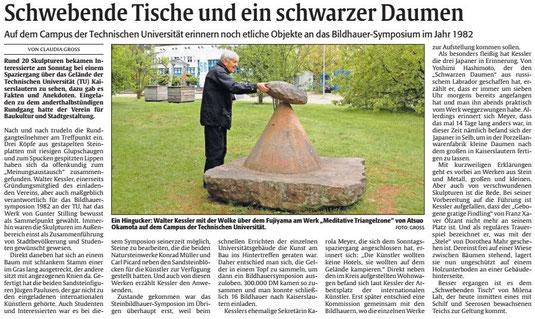 Verein für Baukultur und Stadtgestaltung Kaiserslauterne . V. - Skulpturen