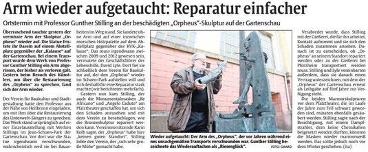 Verein für Baukultur und Stadtgestaltung Kaiserslautern e. V. - Orpheus