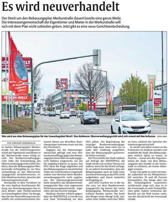 Verein für Baukultur und Stadtgestaltung Kaiserslautern e. V. - Merkurstraße
