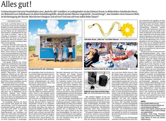 Verein für Baukultur und Stadtgetaltung Kaiserslautern e. V. - Bankenrettung