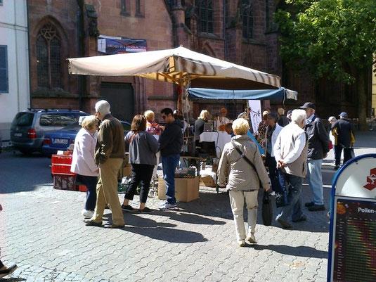 Verein für Baukultur und Stadtgestaltung Kaiserslautern e. V. - Flohmarkt Okt. 2014