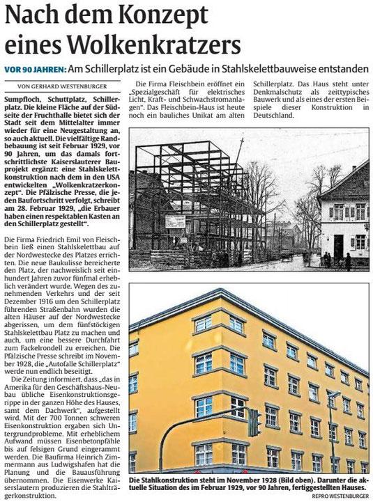 Verein für Baukultur und Stadtgestaltung Kaiserslautern e. V. - Schillerplatz 7