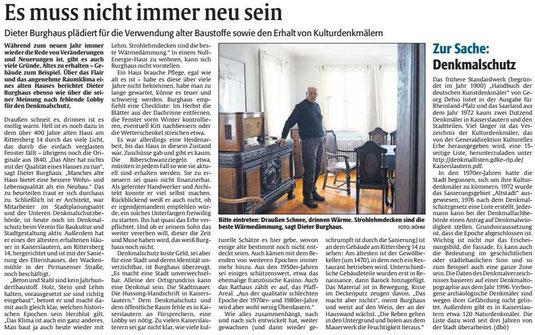 Verein für Baukultur und Stadtgestaltung Kaiserslautern e. V. - Dieter Burghaus