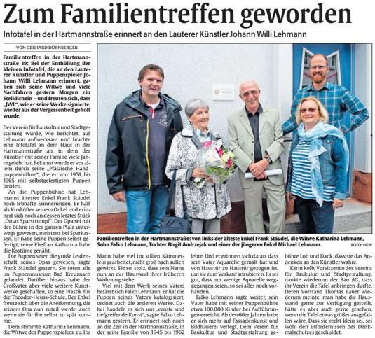 Verein für Baukultur und Stadtgestaltung Kaiserslautern e. V. - Info-Tafeln