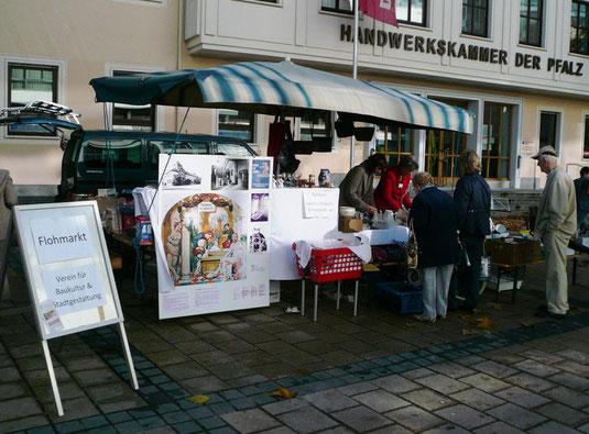 Verein für Baukultur und Stadtgestaltung Kaiserslautern e. V. - Flohmarkt