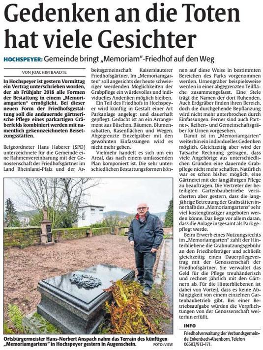 Verein für Baukultur und Stadtgestaltung Kaiserslautern e. V. - Memoriamgarten
