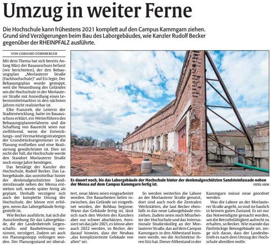 Verein für Baukultur und Stadtgestaltung Kaiserslautern e. V. - Kammgarnfassade