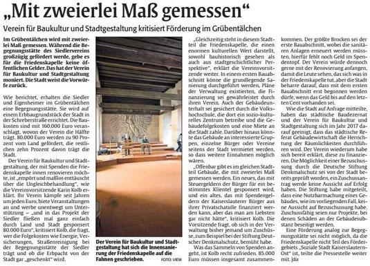 Verein für Baukultur und Stadtgestaltung Kaiserslauern e. V. - Friedenskapelle