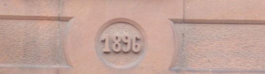 Verein für Baukultur und Stadtgestaltung Kaiserslautern e. V. - Türsturz Kammgarn