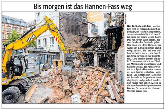 Verein für Baukultur und Stadtgestaltung Kaiserslautern e. V. - Hannenfass