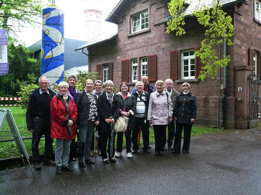 Verein für Baukultur und Stadtgestaltung Kaiserslautern e. V. - Majolika Gruppenbild