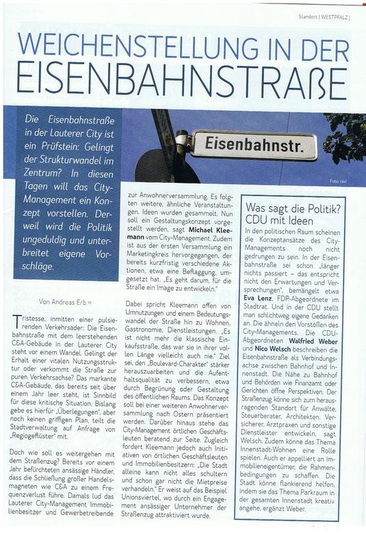 Verein für Baukultur und Stadtgestaltung Kaiserslautern e. V. - Eisenbahnstraße