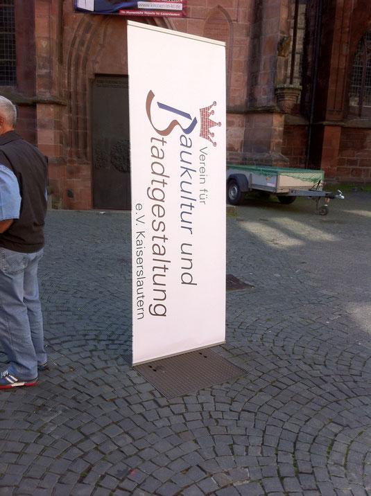 Verein für Baukultur und Stadtgestaltung Kaiserslautern e. V. - Flohmarkt 2014