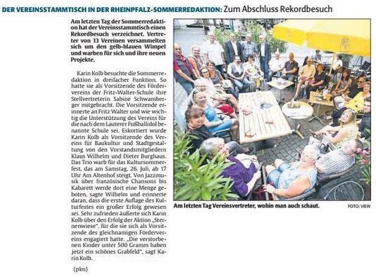 Verein für Baukultur und Stadtgestaltung Kaiserslautern e. V. - Sommerredaktion