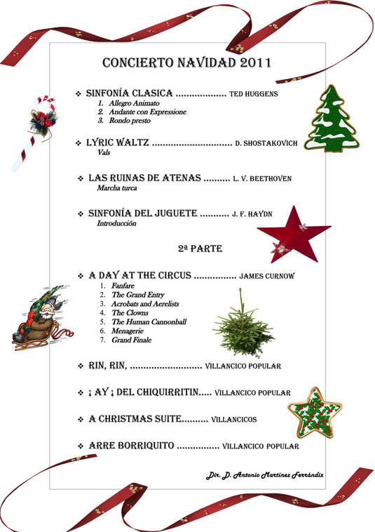 Concierto Navidad 2011
