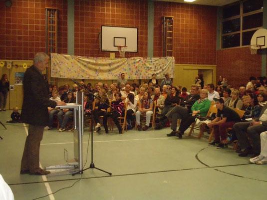 Begrüßung durch Herrn Direktor Herrmann