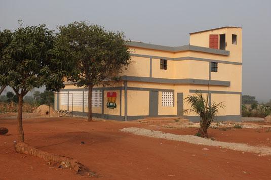 Unser Kulturhaus nun eine Etage erweitert im Januar 2015