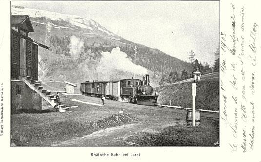 Verlag Buchdruckerei Davos, gestempelt 02. Mai 1903