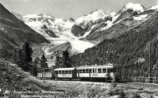 Photographie B. Schocher Pontresina, gestempelt 27.08.1942