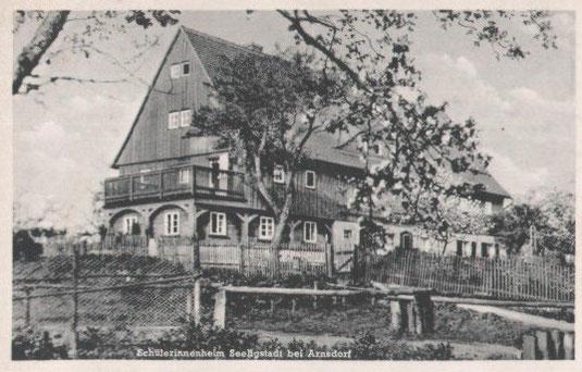 Bild: Teichler Seeligstadt Sachsen Schullandheim