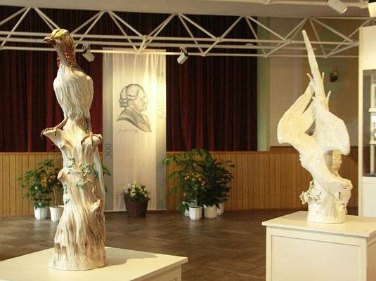 Bild: Teichler Seeligstadt Sachsen Kändlerausstellung