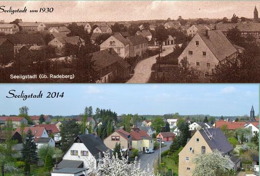 Bild: Seeligstadt Sachsen Postkarte