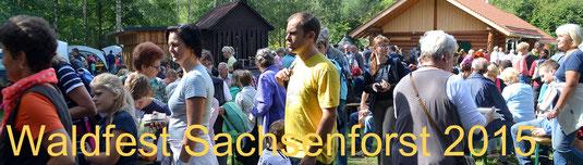 Bild: Teichler Seeligstadt Sachsen Waldfest 2015