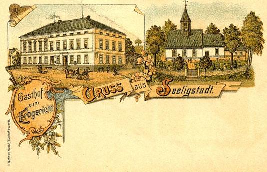 Bild: Teichler Seeligstadt Sachsen Erbgricht