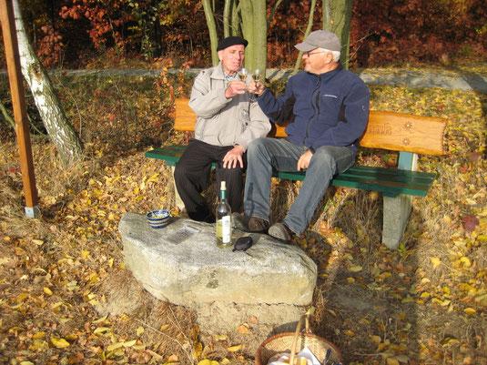 Bild: Teichler Seeligstadt Sachsen Wolfgang Marschner und Martin Fauck