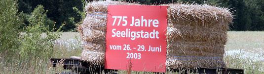 Bild: Teichler Seeligstadt Sachsen 775 Jahre  2003