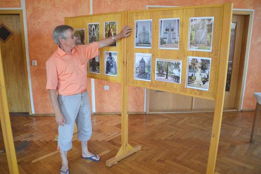 Bild: Teichler Seeligstadt Sachsen Heimatverein Ausstellung 100 Jahre 1.Weltkrieg Werner Frömmel