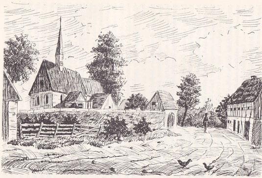Bild: Teichler Seeligstadt Sachsen um 1830
