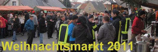Bild: Teichler Seeligstadt Sachsen Weihnachtsmarkt 2011