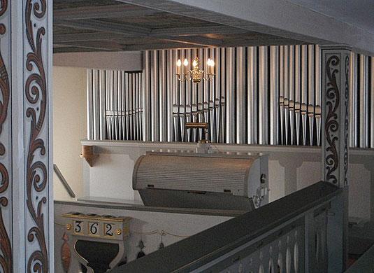 Bild: Teichler Seeligstadt Sachsen Orgel Kirche