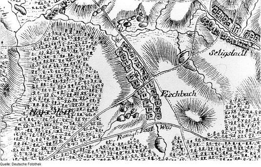 Bild: Teichler Seeligstadt Fischbach 18.Jahrhundert