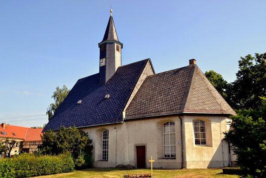 Bild: Teichler Seeligstadt Sachsen  Dorfkirche